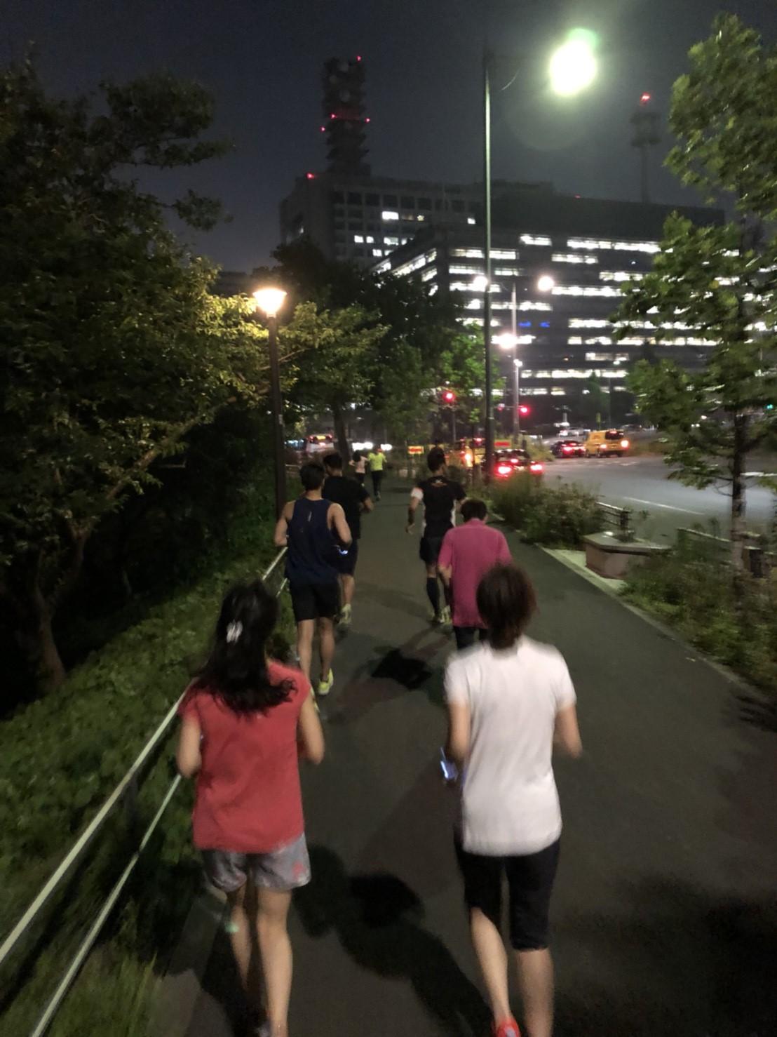 [RUN・東京]RUNCUBE RUNCLUB プレイベント 20.08.29 sat.