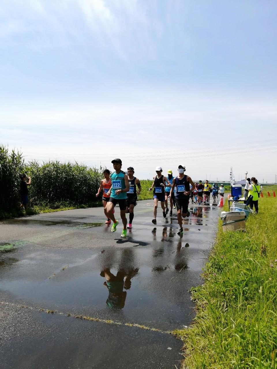 [RUN・東京]第24回荒川スマイルマラソン 20.09.05 sat.