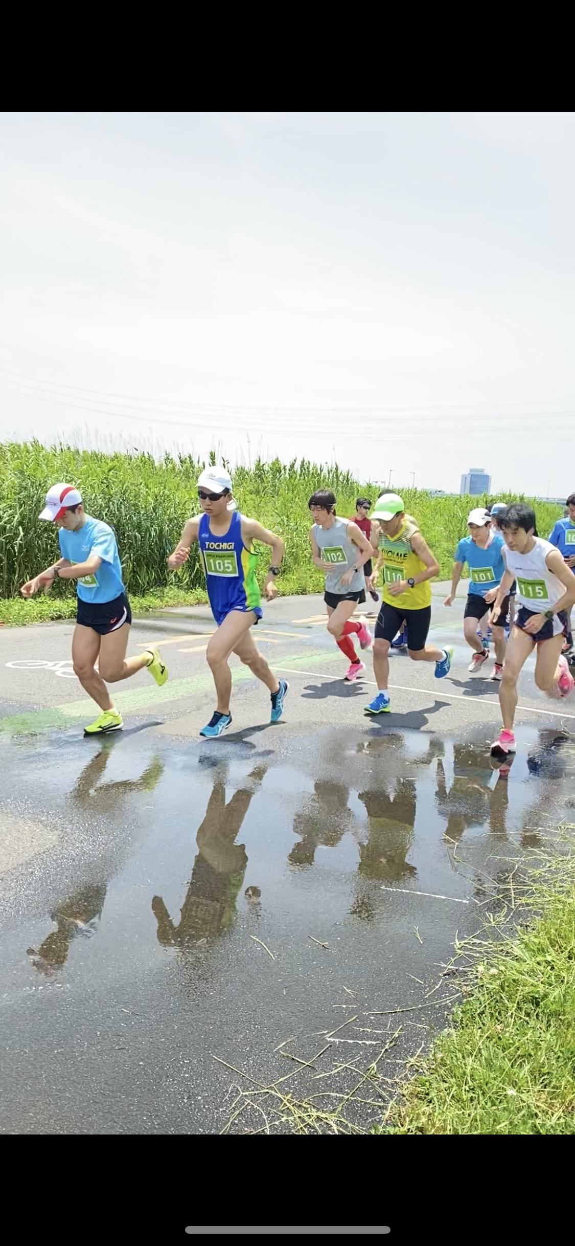 [RUN・東京]第25回荒川スマイルマラソン 20.09.26 sat.