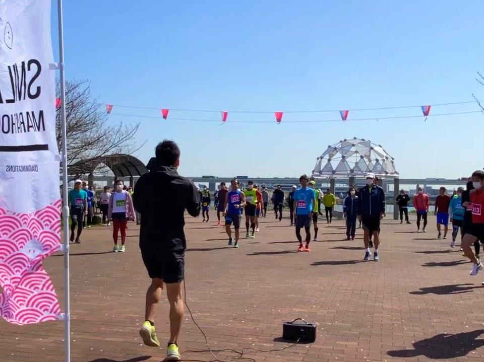 [RUN・東京]第27回荒川スマイルマラソン 20.11.15 sun.