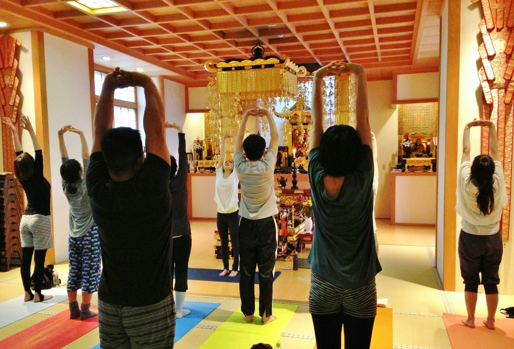 [YOGA・東京]寺ヨガ 大聖院 20.10.31 sat.
