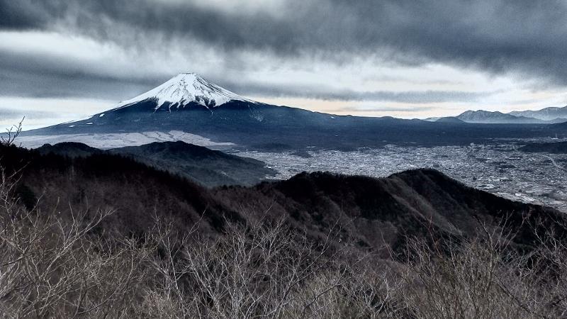 [登山・山梨]富士八景 倉見山 2020.10.31 sat.