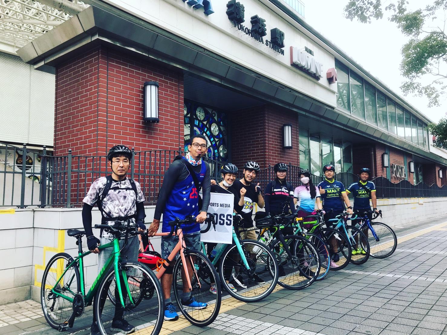 [BIKE・東京]ステレオタイフーンと行く多摩川サイクリング 20.11.01 sun.