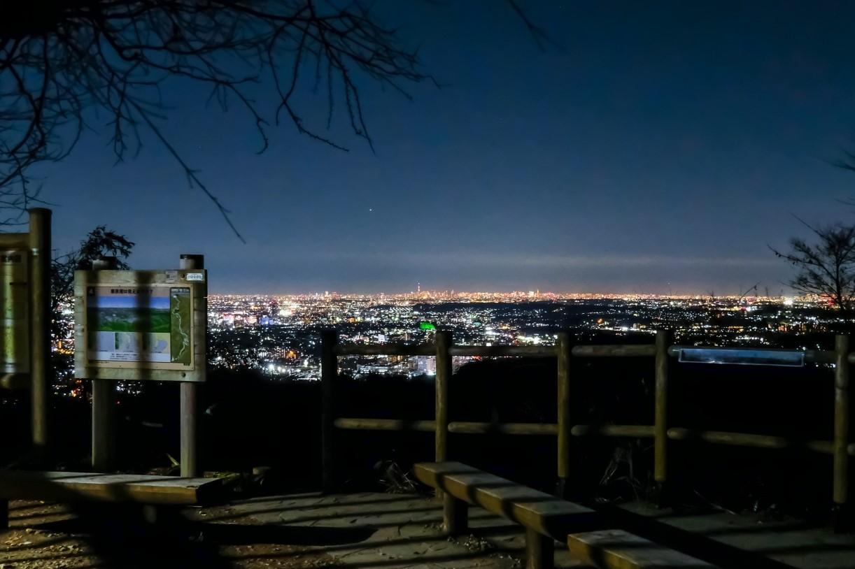 [ハイキング・東京]山頂の絶景夕日&夜景ナイトハイク 高尾山 2021年10月9日(土)