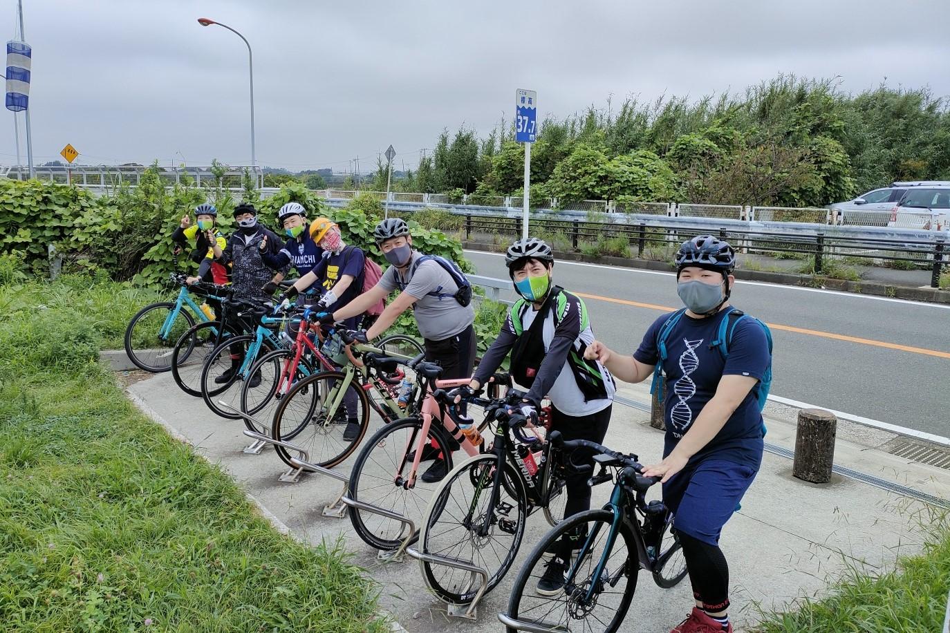 [サイクリング・千葉]ステレオタイフーンと行く 印旛沼サイクリングロード  2021年10月10日(日)