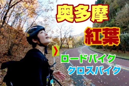 [サイクリング・東京]ステレオタイフーンと行く 奥多摩 紅葉ライド 2021年11月14日(日)